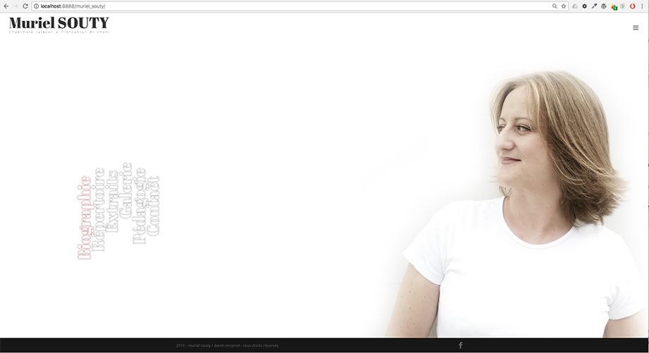 PANDA-TRIBU - muriel souty - page accueil