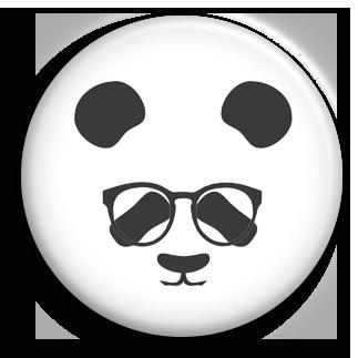 Badge PANDA-TRIBU Sérieux