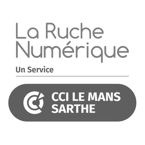 logo CCI La Ruche Numérique