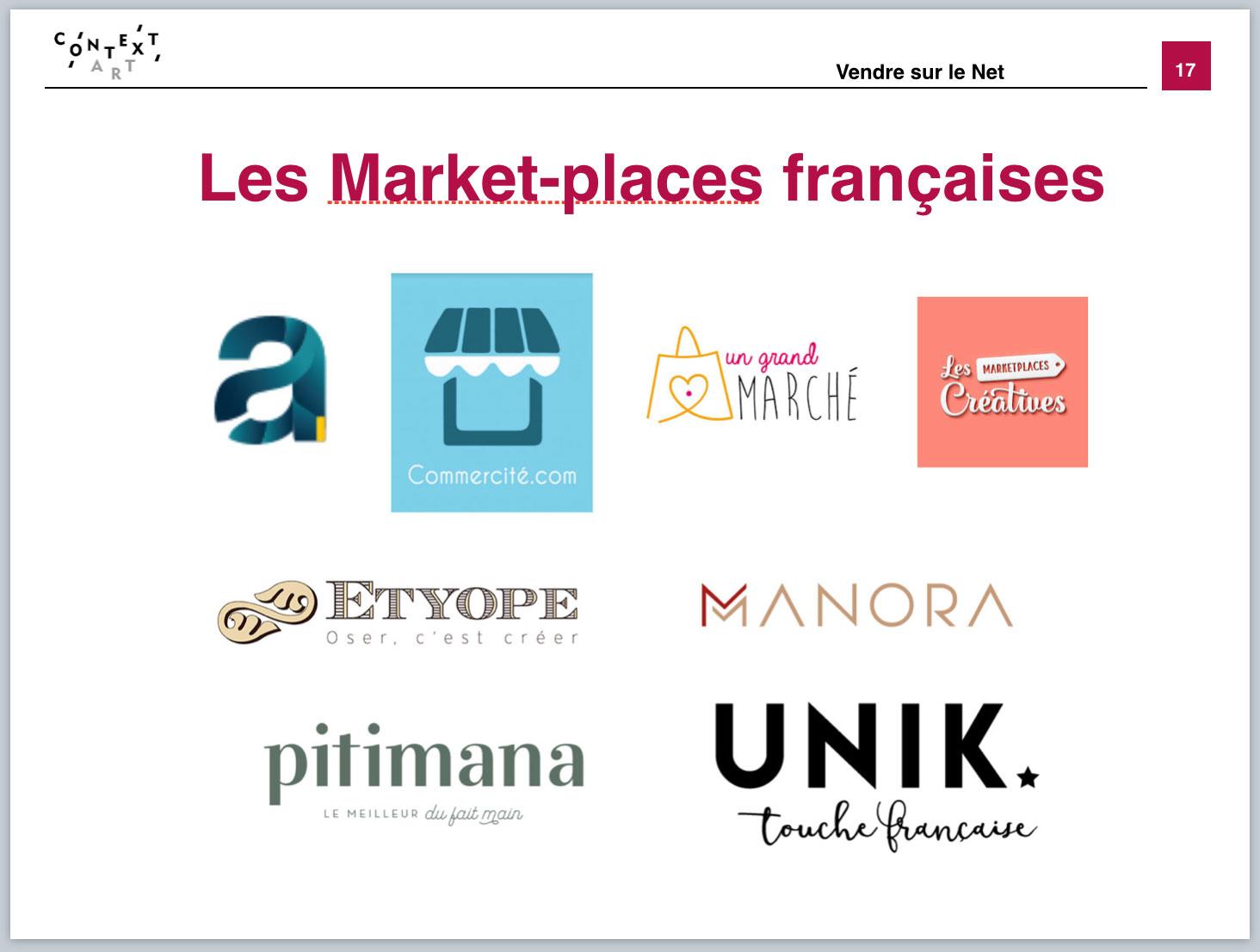 Context'art-David Vincenot-Marketplaces française